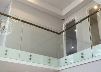 Coogee – Glass Balustrade with Timber Handrail