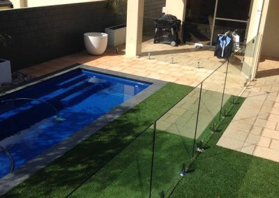 Dianella – Glass Pool Fencing Installation