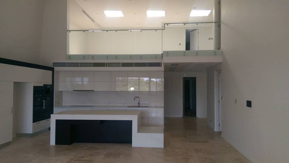 installed glass balustrades perth commercial property