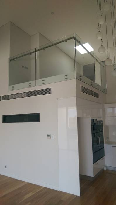 glass balustrades for commercial development