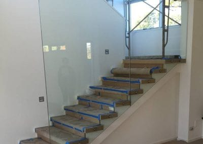 Mosman Park – Glass Balustrade For Staircase