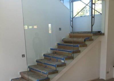 Mosman Park – Glass Balustrade For Staircase