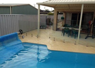 Rockingham – Recent Glass Pool Fencing Install