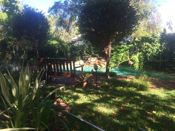 Glass Pool Fencing Compliments Beautiful Garden
